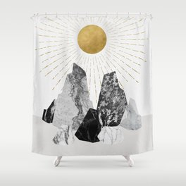 Rock Formation No.2 Shower Curtain