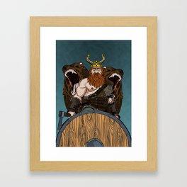 ILLUSTRAZIONI Framed Art Print