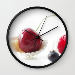 Fruits of Summer Wall Clock