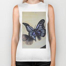 Le papillon sur les traces de l'amour Biker Tank