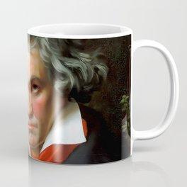 Ludwig van Beethoven (1770-1827) by Joseph Karl Stieler, 1820 Coffee Mug