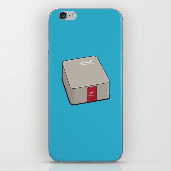 Escape Key iPhone & iPod Skin