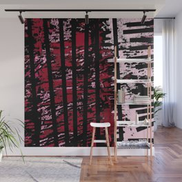 Lines and Mouv Wall Mural