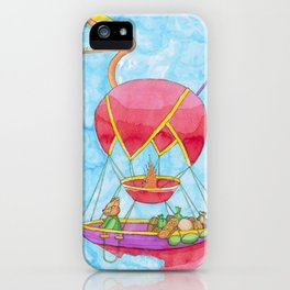 Travelling Merchant iPhone Case