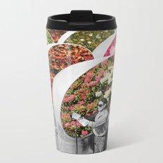The Gardener Metal Travel Mug