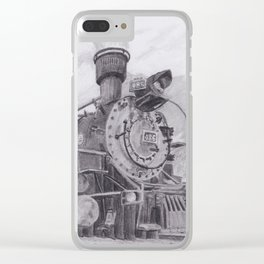 Durango and Silverton Steam Engine Clear iPhone Case