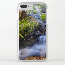 Mysterious River. Sierra Nevada Clear iPhone Case