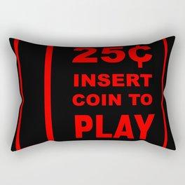 Coin slot Rectangular Pillow