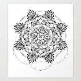 Mandala No. 3 Art Print