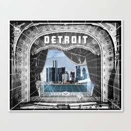 The Big Show - Detroit, Michigan Canvas Print
