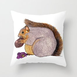Everyone Loves Quality Street Throw Pillow