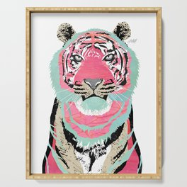 Pink Tiger Serving Tray