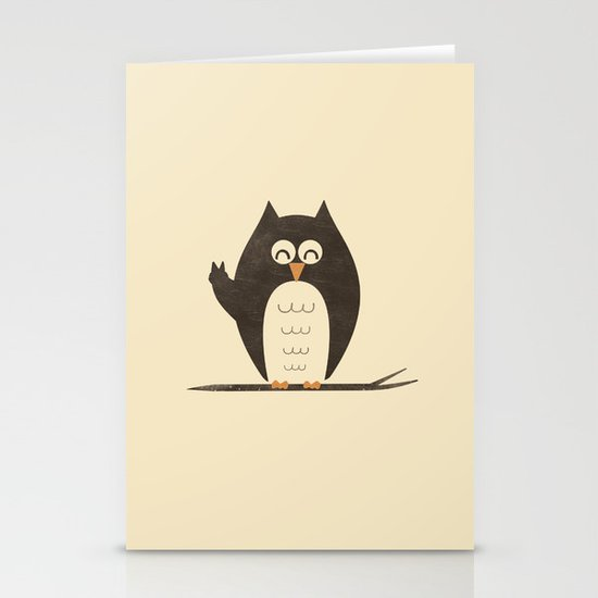 Peace Owlt Stationery Cards