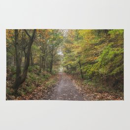 Autumn Cycle Path Rug