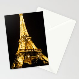 Sparkling Eiffel Tower Stationery Cards