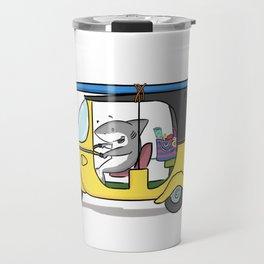 Tuk Tuk Shark! Travel Mug
