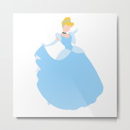Cinderella Metal Print