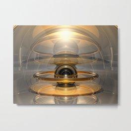 Energy Cell Metal Print