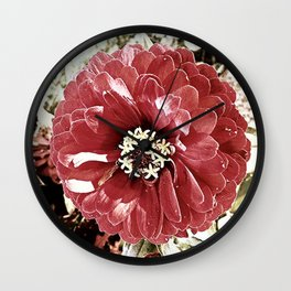 Red 2 Wall Clock