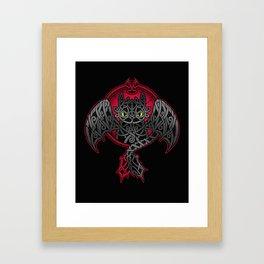 Viking Fury Framed Art Print