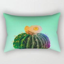 Mint Cactus Rectangular Pillow