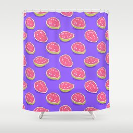 Pink guava Shower Curtain
