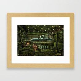Cell Phone Charger Framed Art Print
