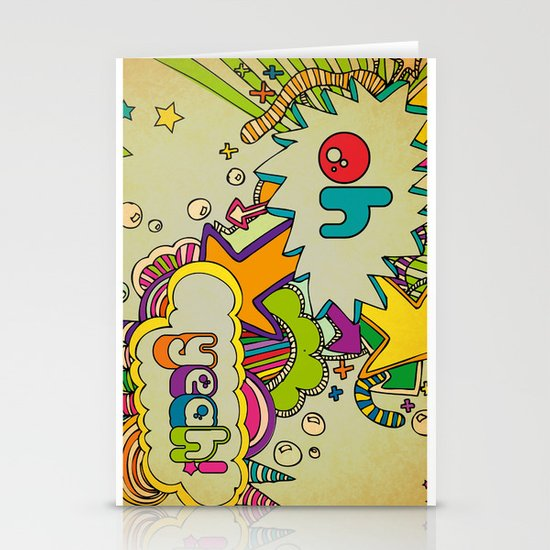Yeah Yeah! Stationery Cards