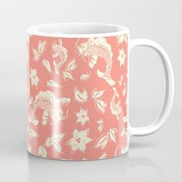 Coral Carps Pattern Coffee Mug