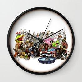 the horror....THE HORROR Wall Clock