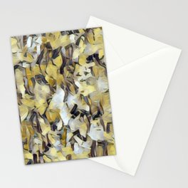 Confetti Gold Neutrals Stationery Cards