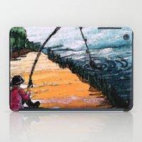 fishing iPad Cases featuring FISHING by aztosaha
