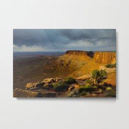 Sunrise Utah. Metal Print