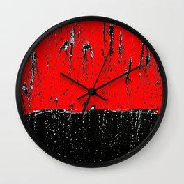 Rain 3 Wall Clock