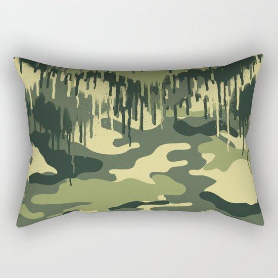 CAMOUFLAGE V Rectangular Pillow