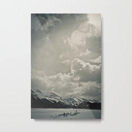 spray lake, kananaskis country, alberta Metal Print