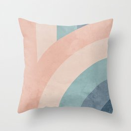 Only a Rainbow Throw Pillow