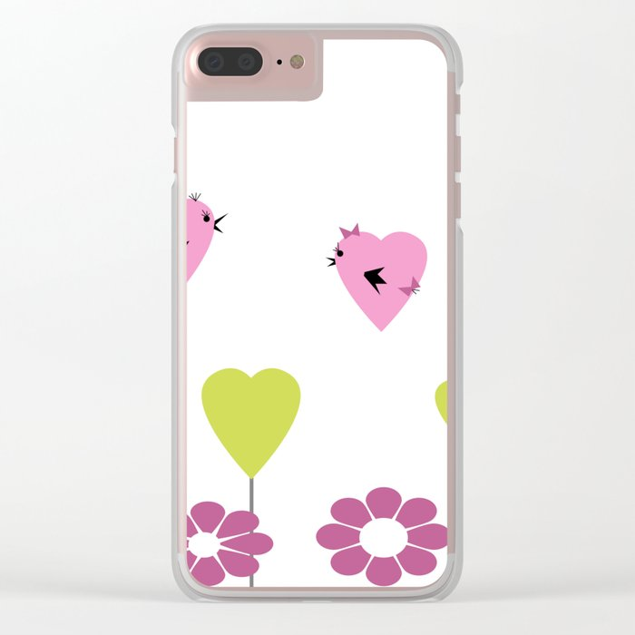 Love. Clear iPhone Case