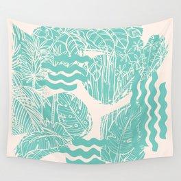 Jungle Green Wall Tapestry