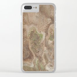 Acrylic Flow #0303 - Cafe Condescension Clear iPhone Case