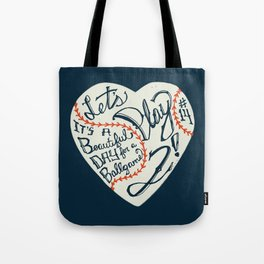 Mr. Cub Tote Bag