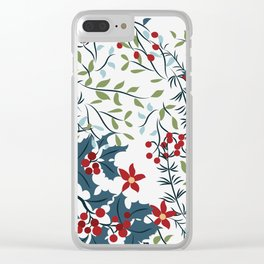christmas-1 Clear iPhone Case