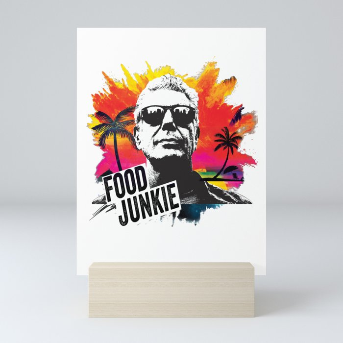 Food Junkie Mini Art Print
