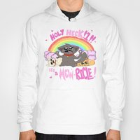 mew Hoodies featuring A MEW-ricle! by Owlies Goods