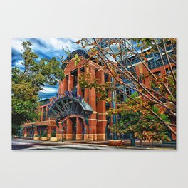 Home of the Rockies Canvas Print