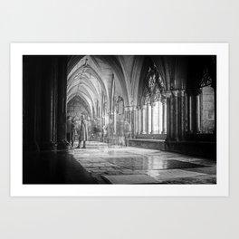 Elements of London III - Westminster Art Print