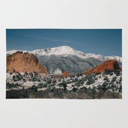 Snowy Mountain Tops Rug