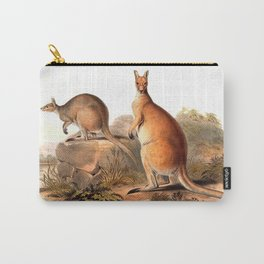 Vintage Kangaroos Australia Carry-All Pouch