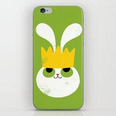 Rabbit King iPhone & iPod Skin