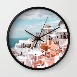 Santorini, Oia Wall Clock